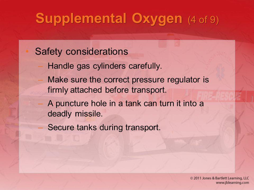 Supplemental Oxygen (4 of 9)