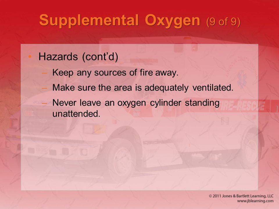 Supplemental Oxygen (9 of 9)