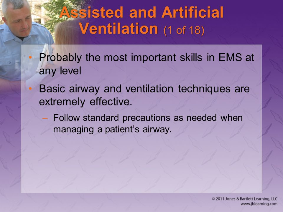 Assisted and Artificial Ventilation (1 of 18)