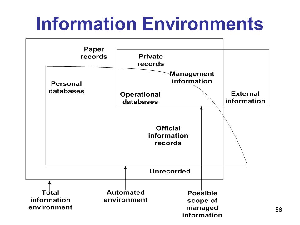 Information Environments