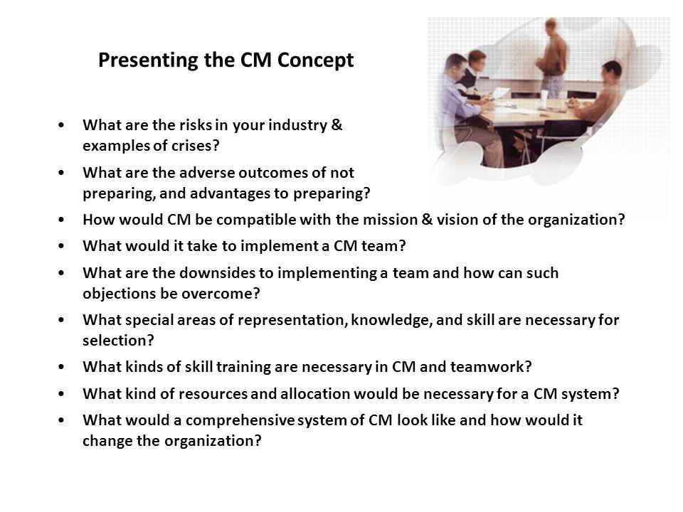 Presenting the CM Concept