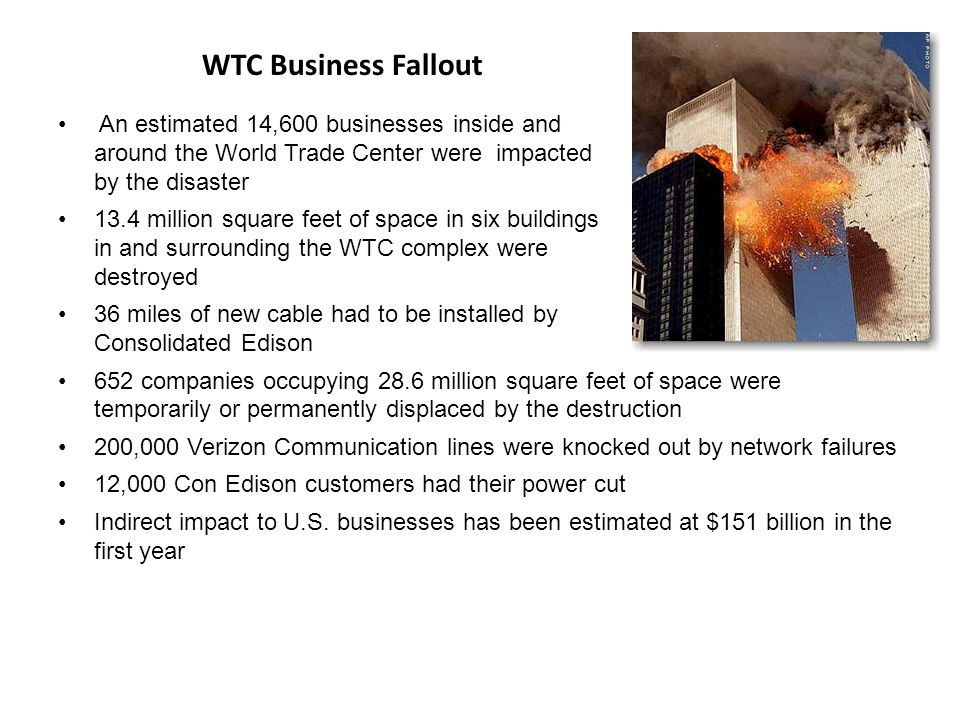 WTC Business Fallout