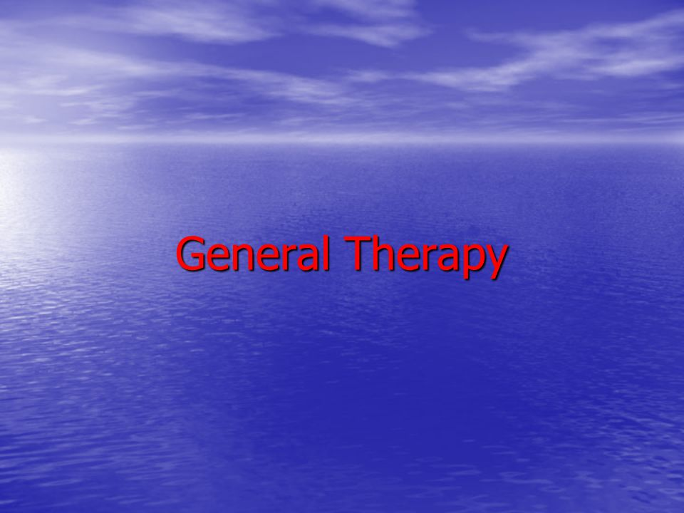 General Therapy