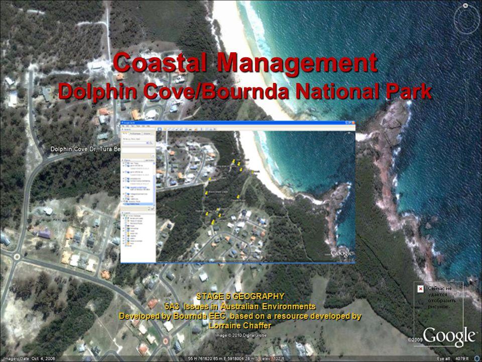 Coastal Management Dolphin Cove/Bournda National Park