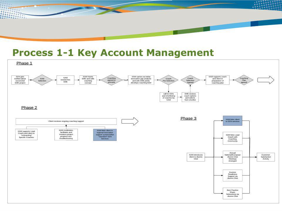 Process 1-1 Key Account Management