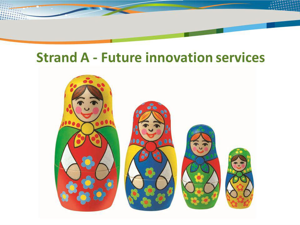 Strand A - Future innovation services