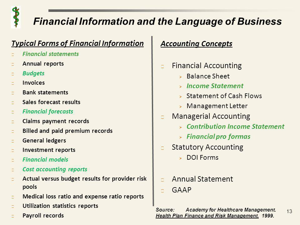 Income Statements Form of a Regular Income Statement Revenues