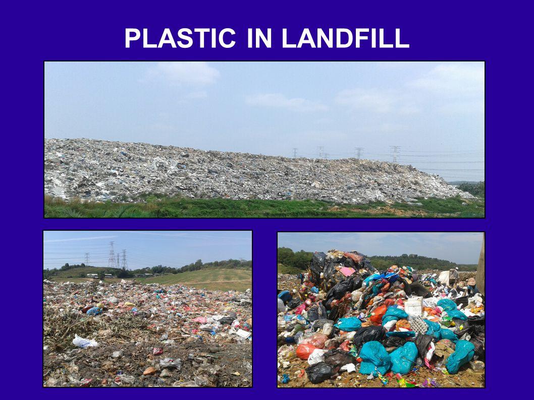 PLASTIC IN LANDFILL