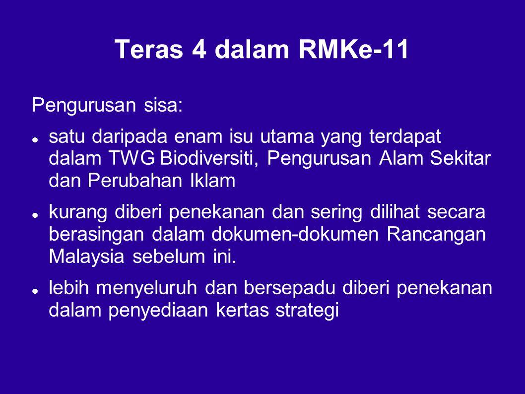 Teras 4 dalam RMKe-11 Pengurusan sisa: