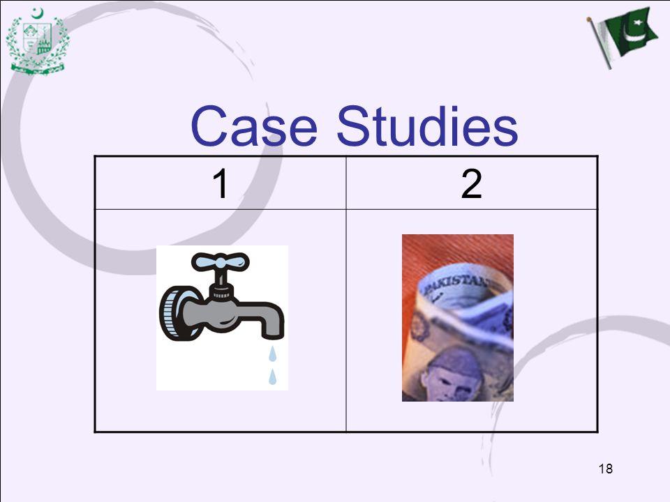 Case Studies 1. 2.