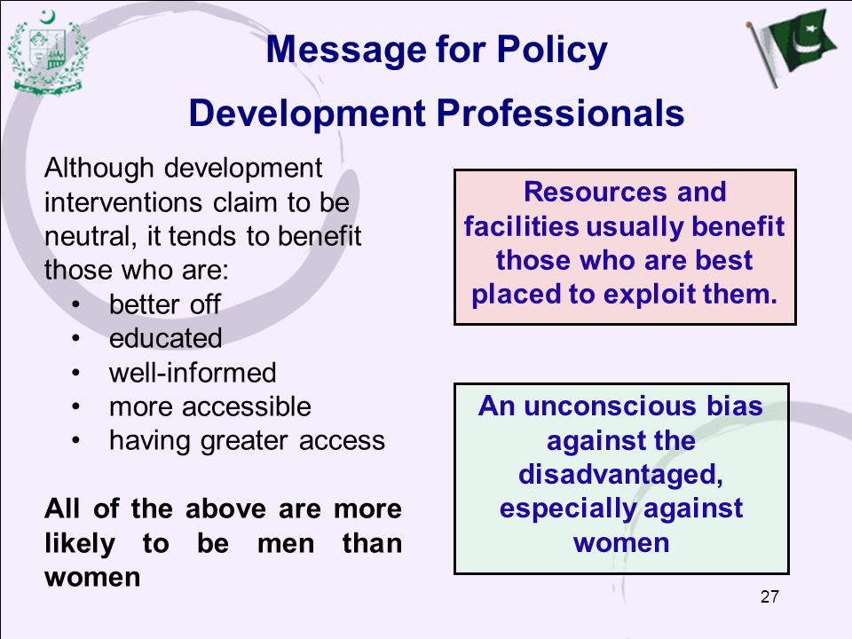Development Professionals