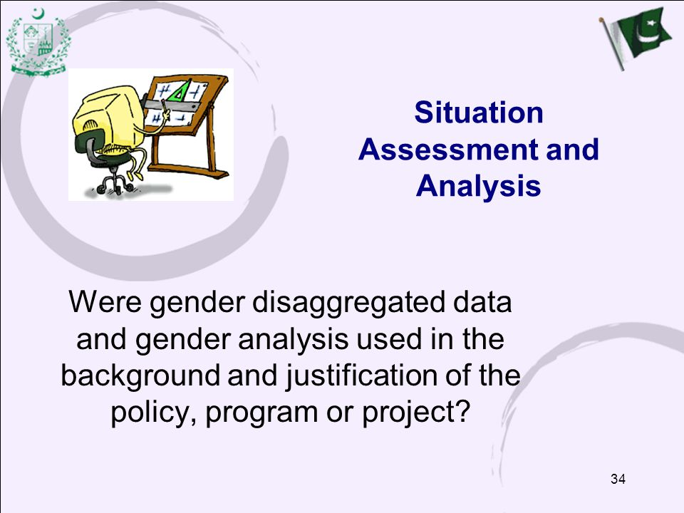 Situation Assessment and Analysis