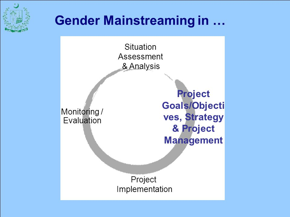 Gender Mainstreaming in …