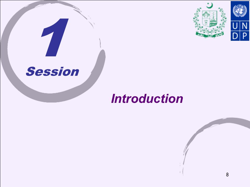 1 Session. Introduction.