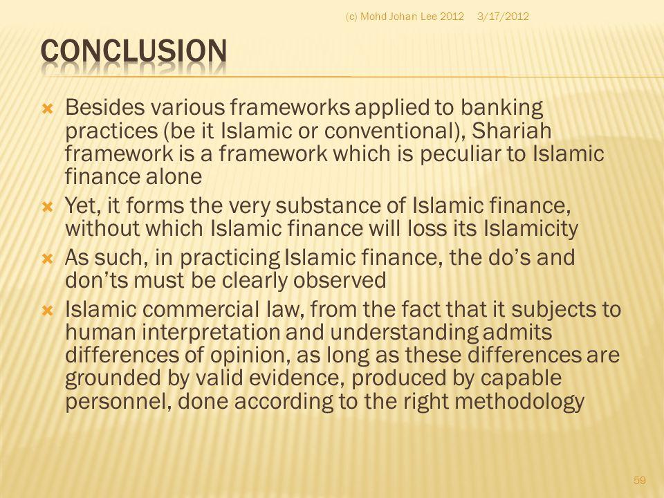 (c) Mohd Johan Lee 2012 3/17/2012. Conclusion.