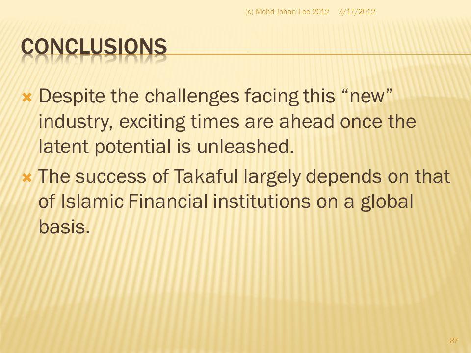 (c) Mohd Johan Lee 2012 3/17/2012. Conclusions.