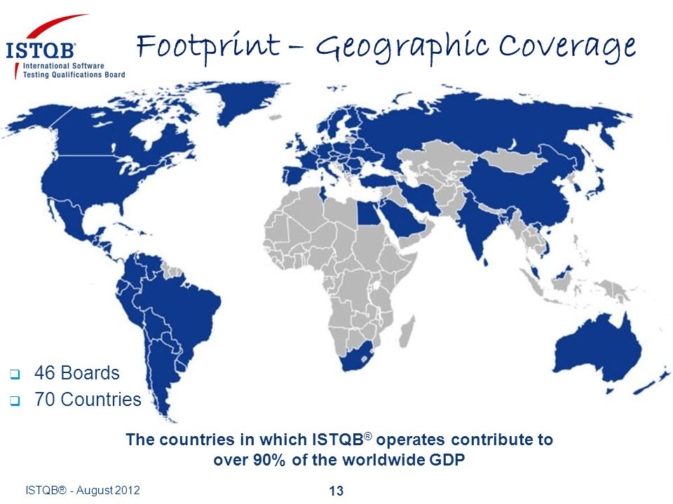 Footprint – Geographic Coverage