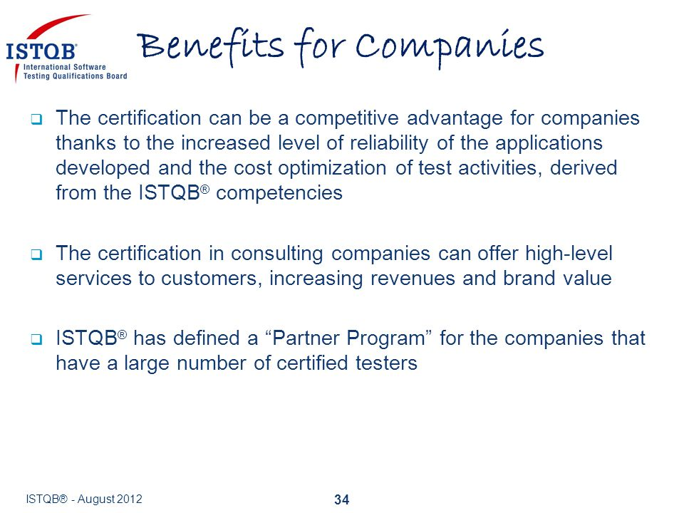 Benefits for Companies