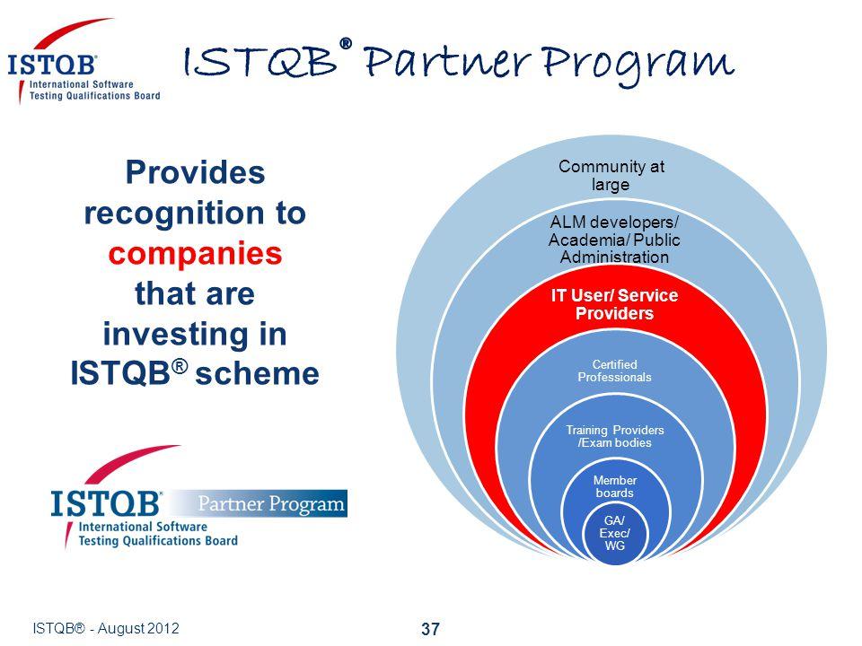 ISTQB® Partner Program