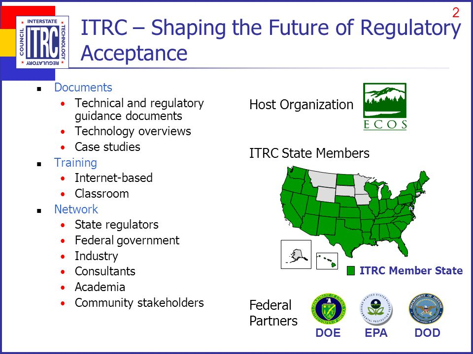 ITRC Disclaimer and Copyright