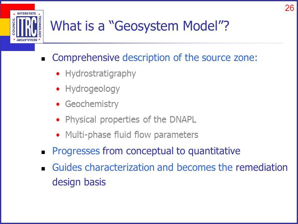 Using a Geosystem Approach