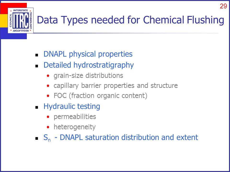 Characterize the DNAPL