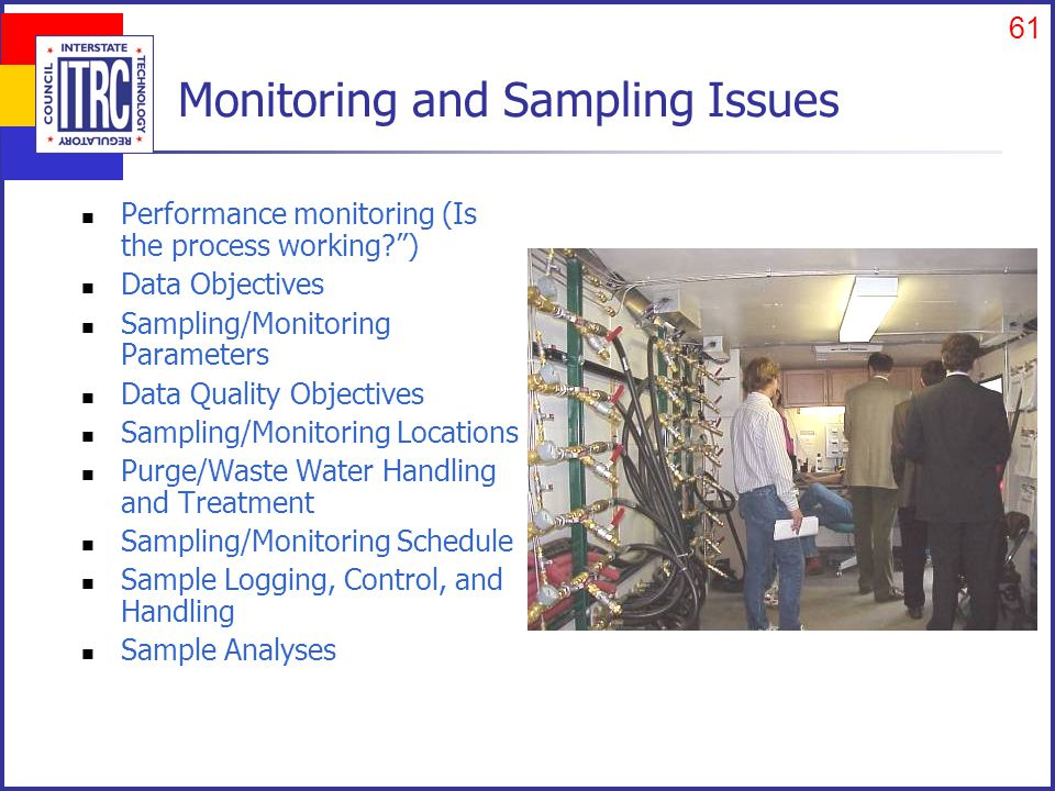 Process Control Issues