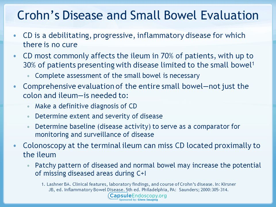 Crohn's Disease and Small Bowel Evaluation