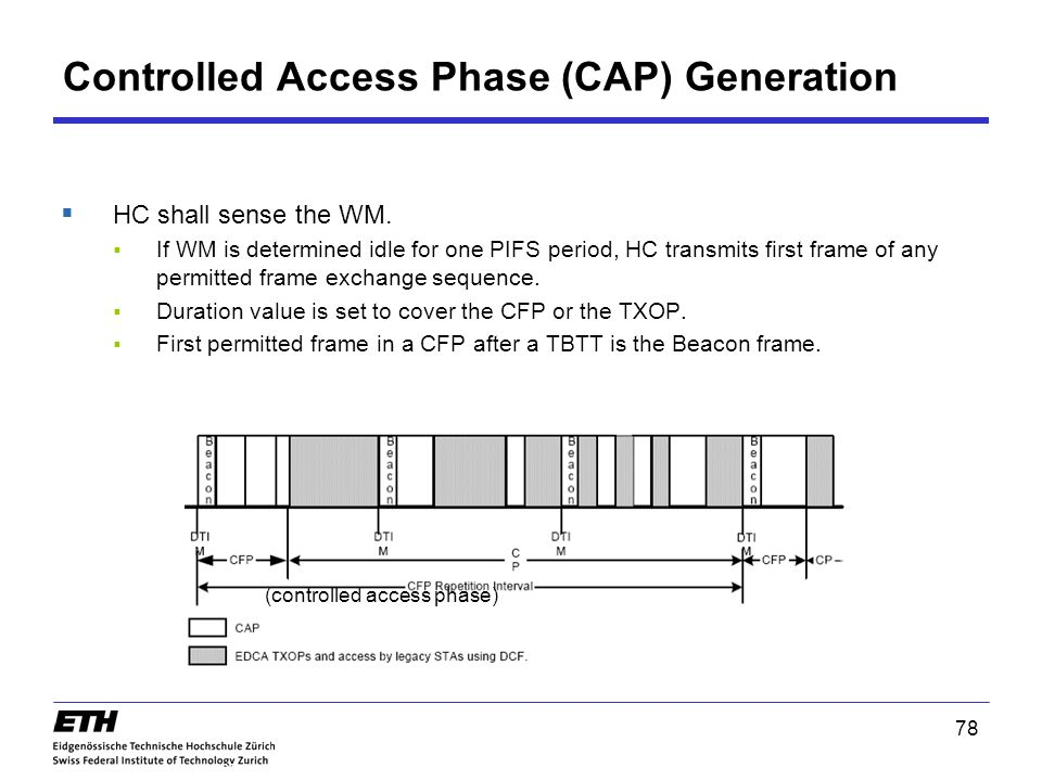 Controlled Access Phase (CAP) Generation