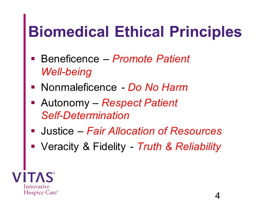 Biomedical Ethical Principles