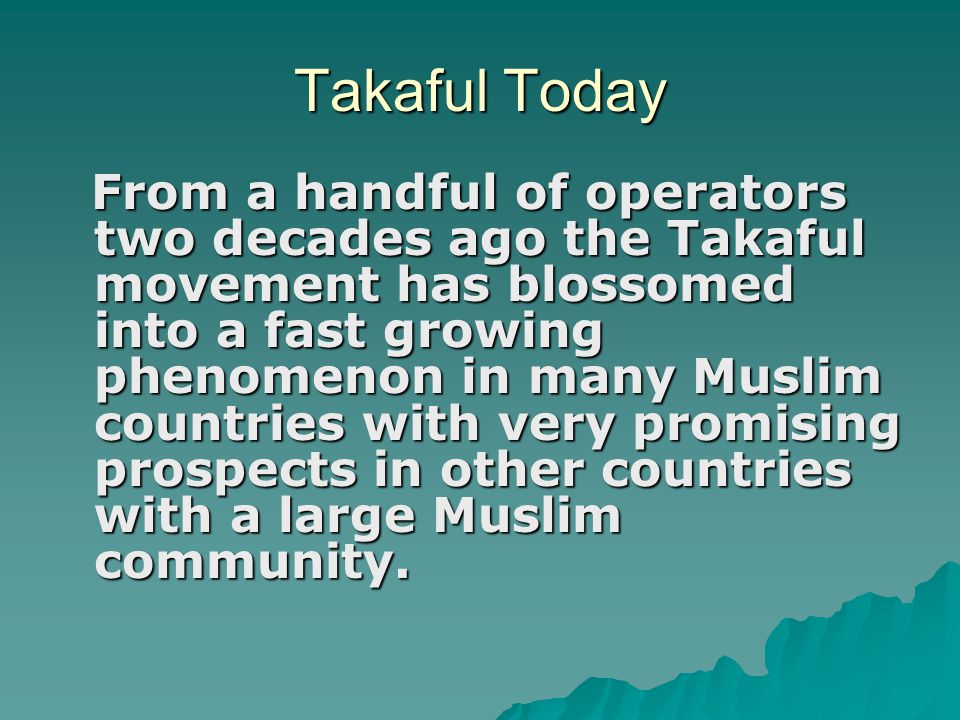Takaful Today