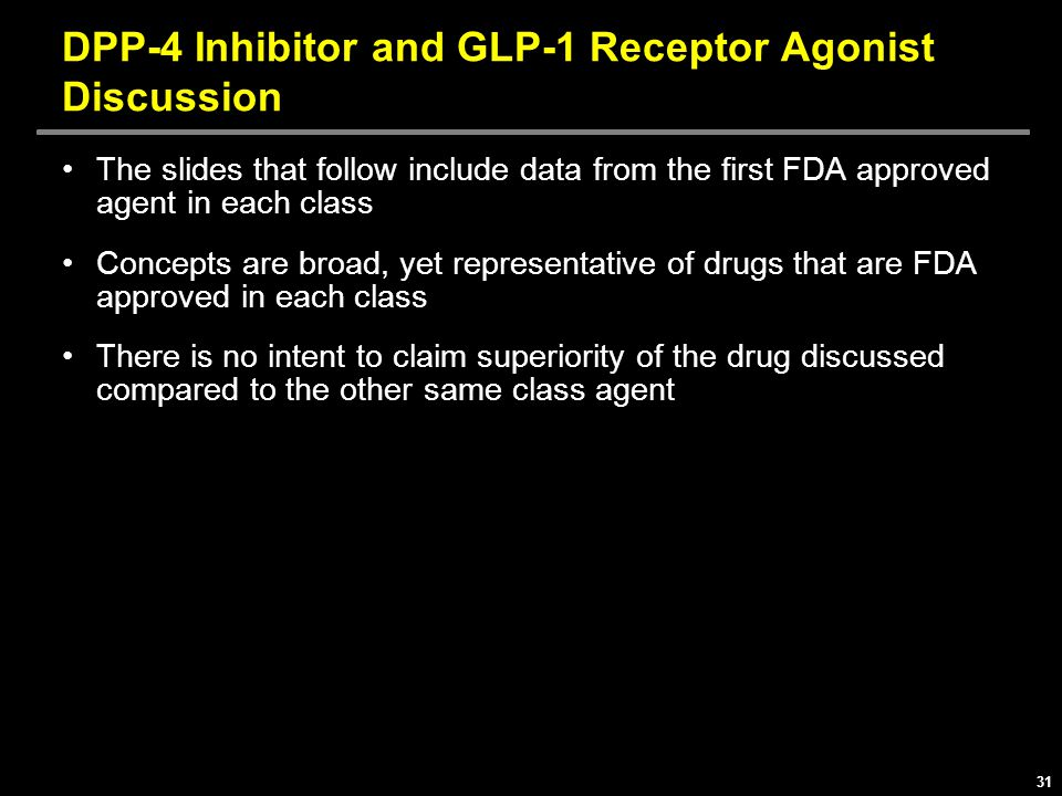 DPP-4 Inhibitor and GLP-1 Receptor Agonist Discussion