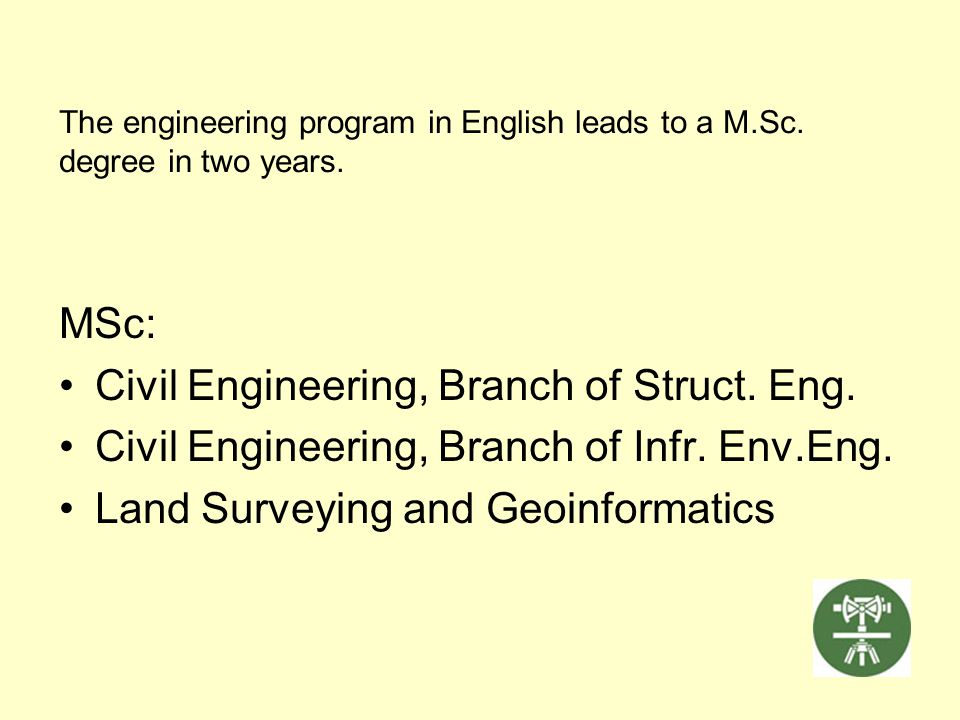 Civil Engineering, Branch of Struct. Eng.