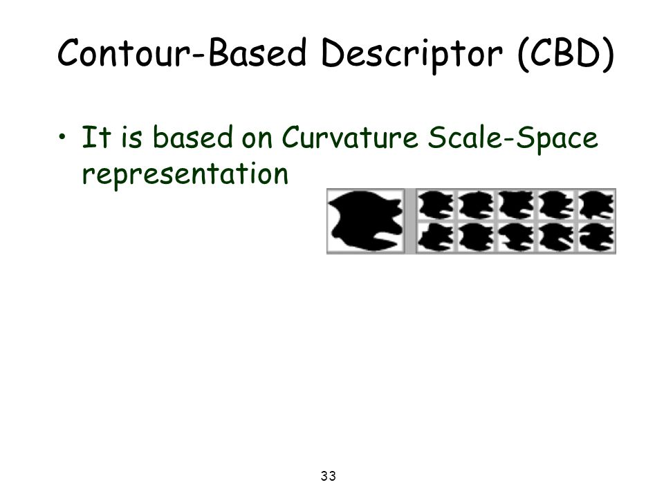 Contour-Based Descriptor (CBD)