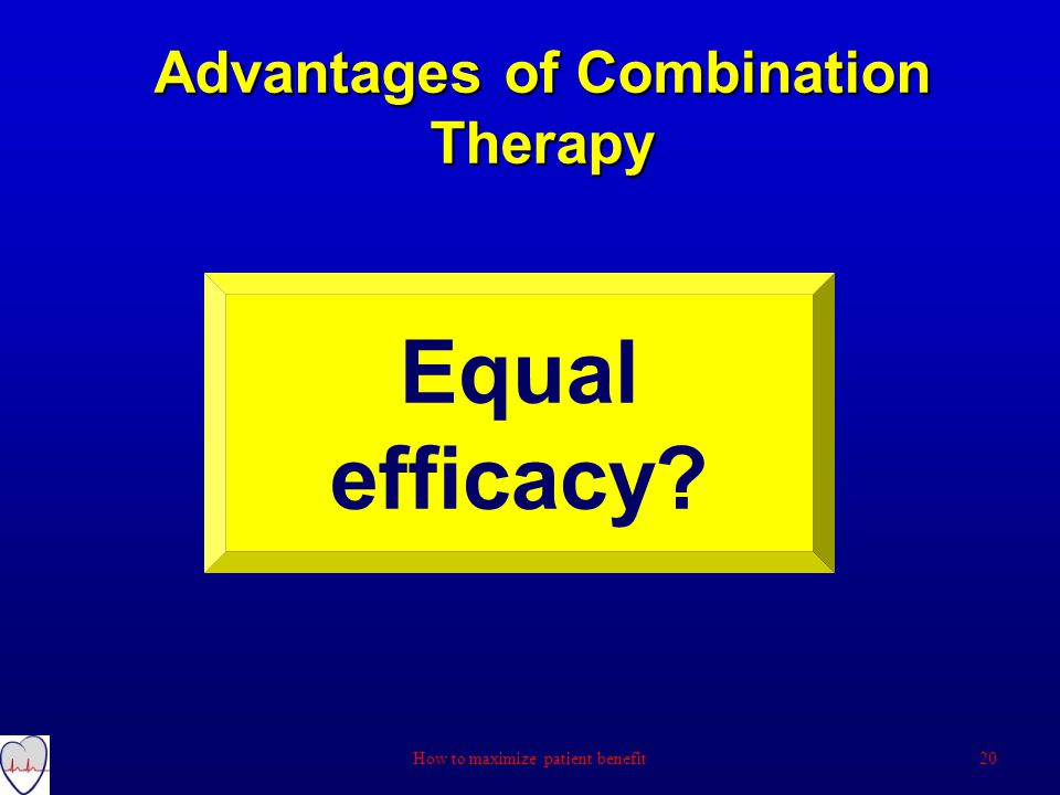 Advantages of Combination Therapy