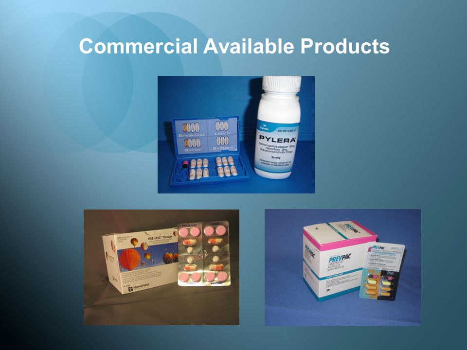 Commercial Available Products