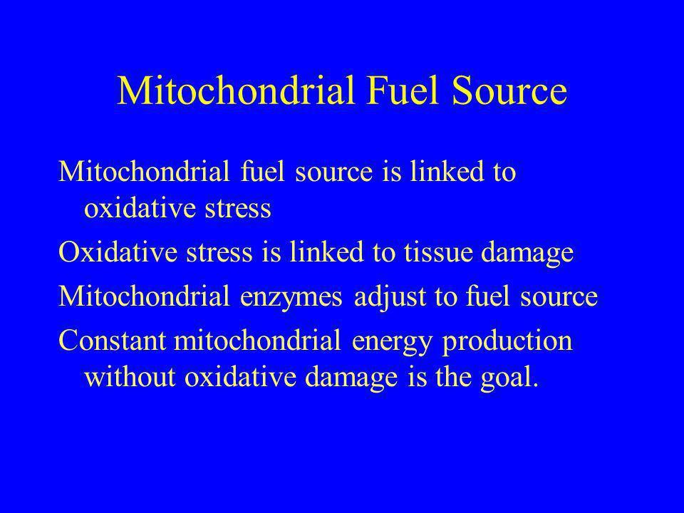 Mitochondrial Fuel Source