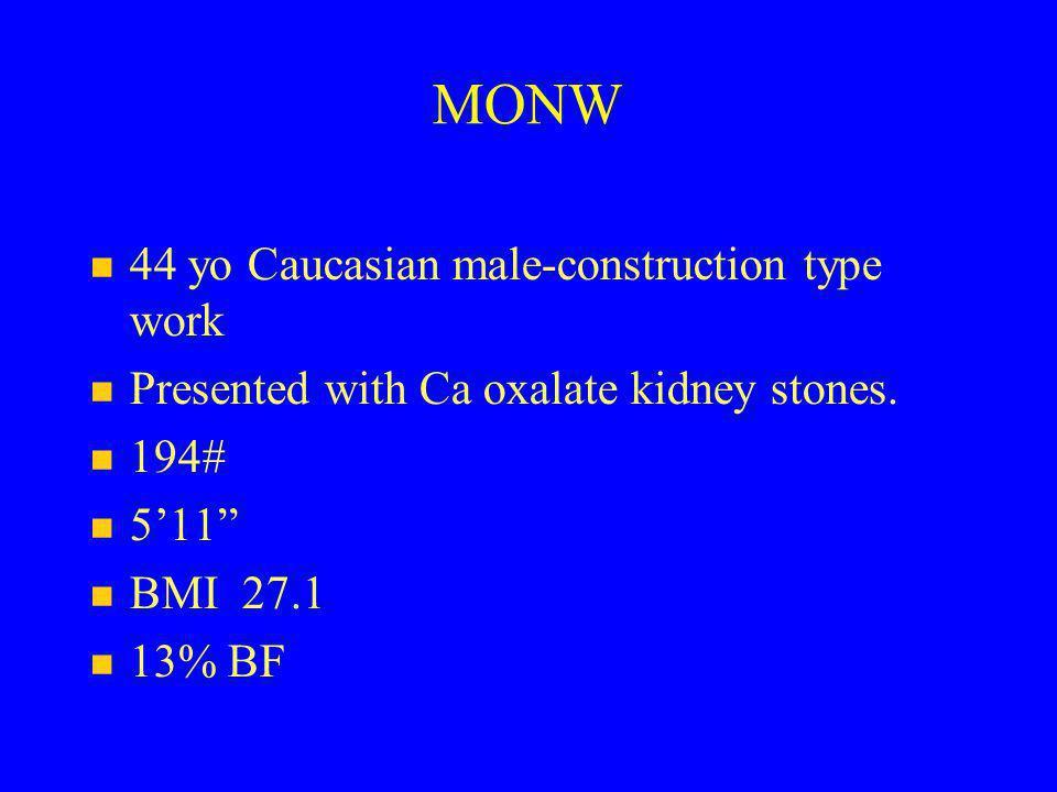 MONW 44 yo Caucasian male-construction type work