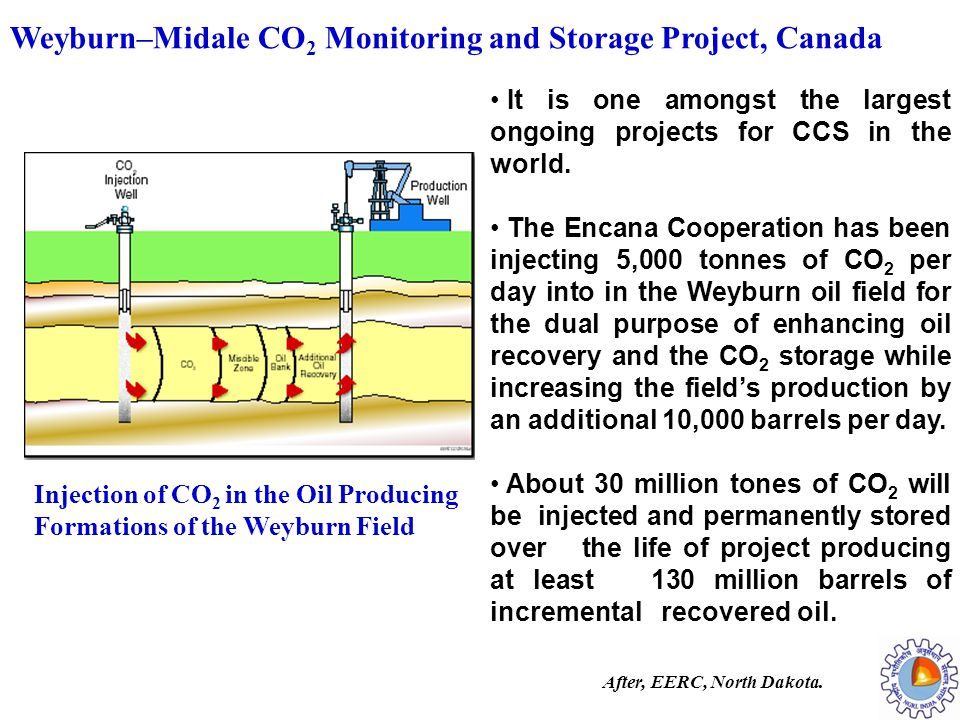 Weyburn–Midale CO2 Monitoring and Storage Project, Canada
