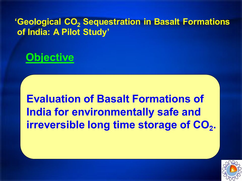 Evaluation of Basalt Formations of India for environmentally safe and