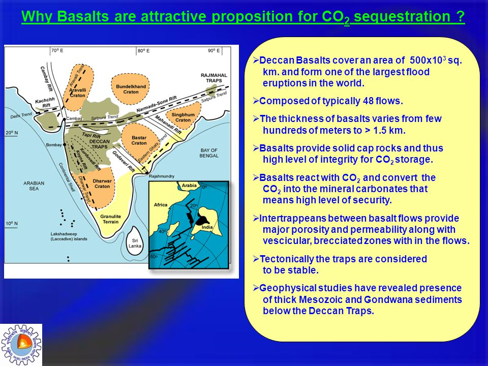 Why Basalts are attractive proposition for CO2 sequestration
