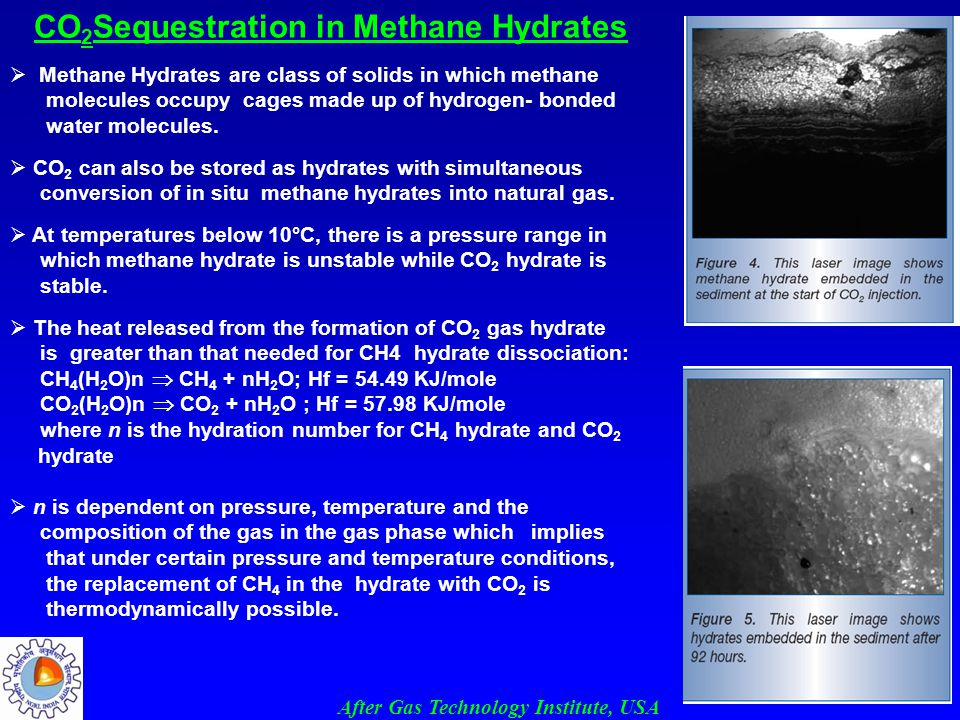 CO2Sequestration in Methane Hydrates