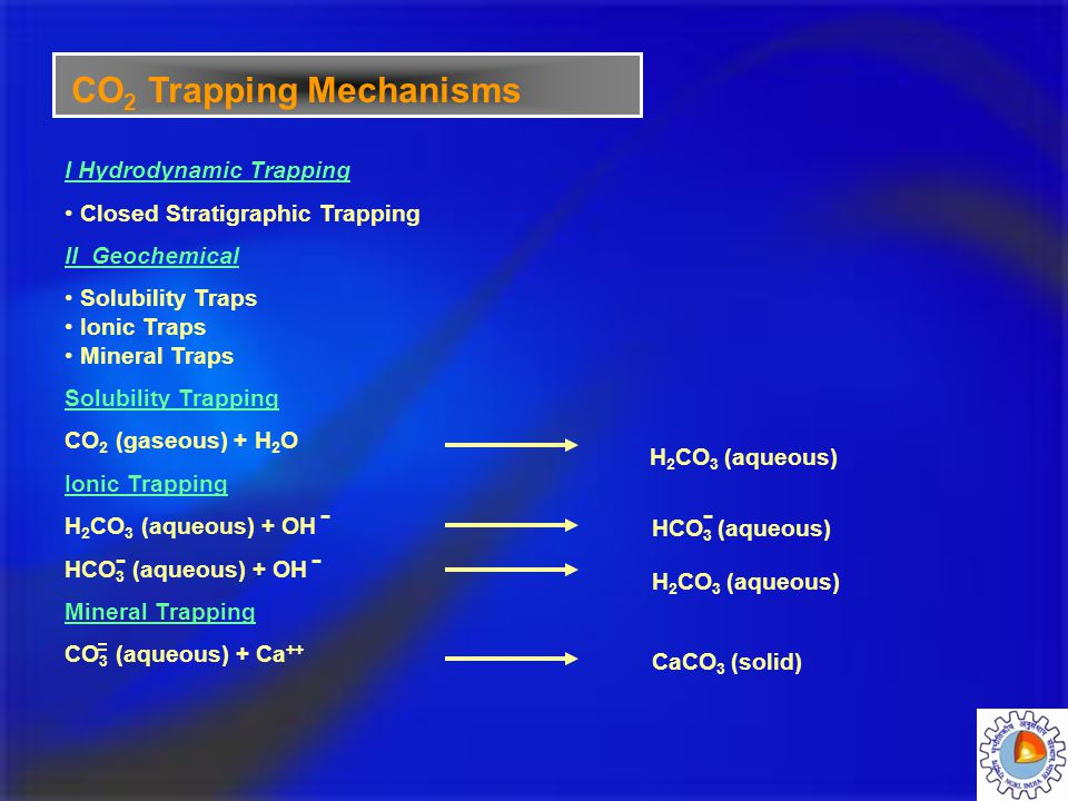 CO2 Trapping Mechanisms