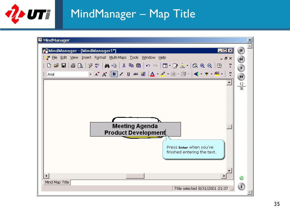 MindManager – Map Title