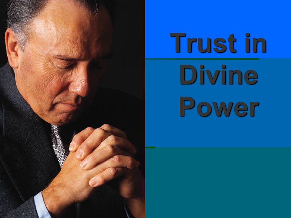 Trust in Divine Power