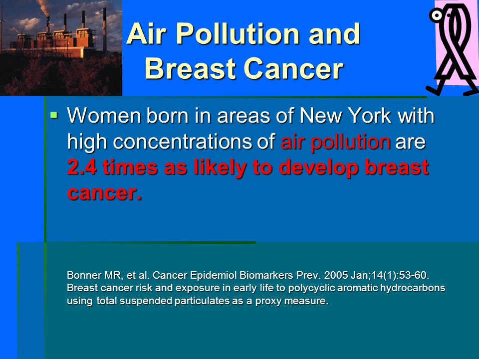 Air Pollution and Breast Cancer
