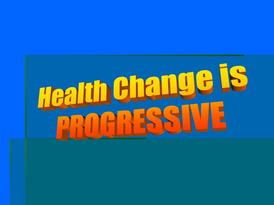 Health Change is PROGRESSIVE