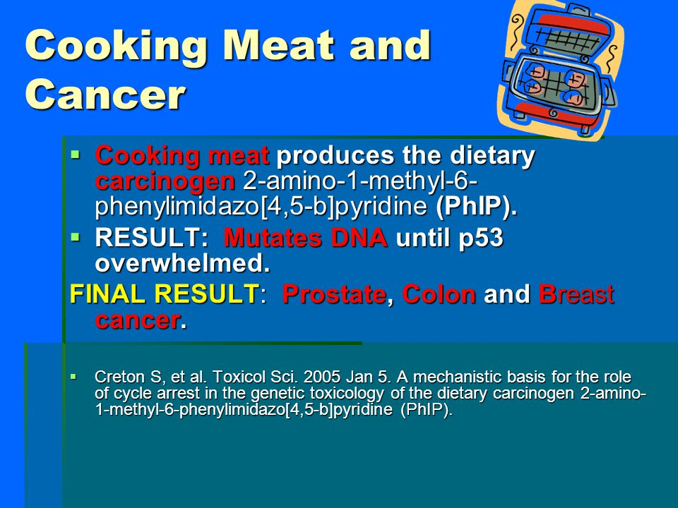 Cooking Meat and Cancer