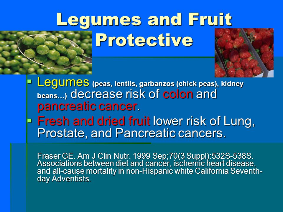 Legumes and Fruit Protective