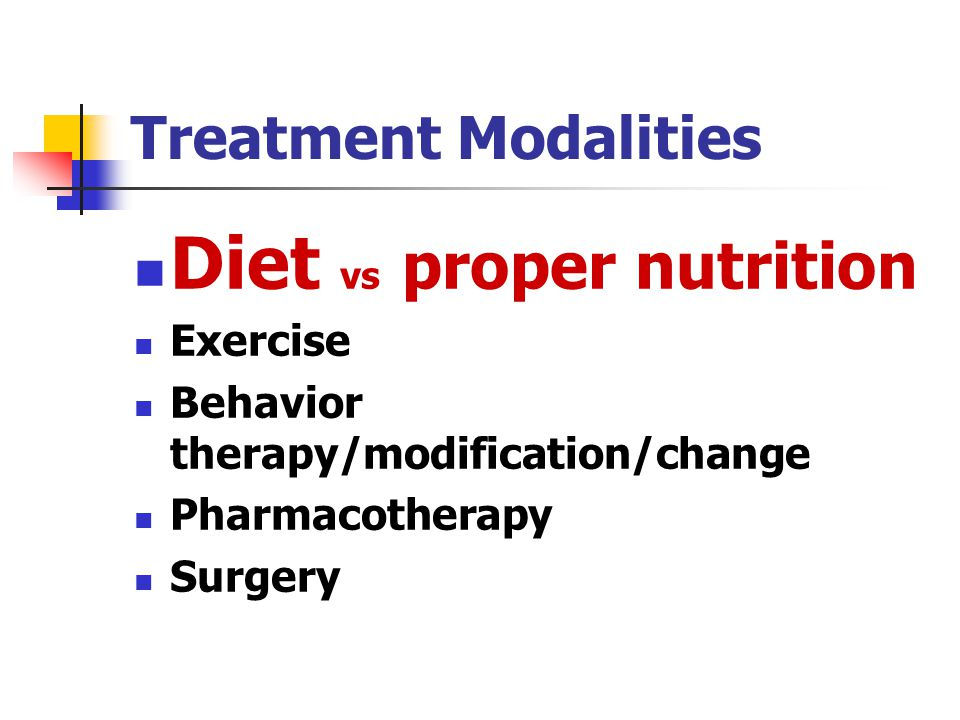 Diet vs proper nutrition